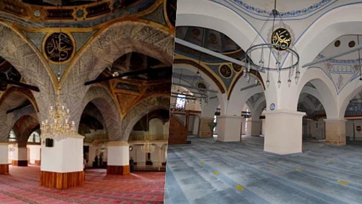Kastamonu Nasrullah Camii'nde 'badana' iddiasına açıklama: Özgün haliyle bırakılmıştır