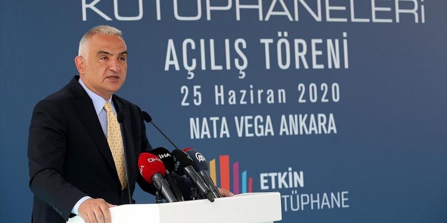 Kültür Ve Turizm Bakanı Ersoy: Amacımız 500'e Yakın Avm'yi Kütüphanelerle Buluşturmak