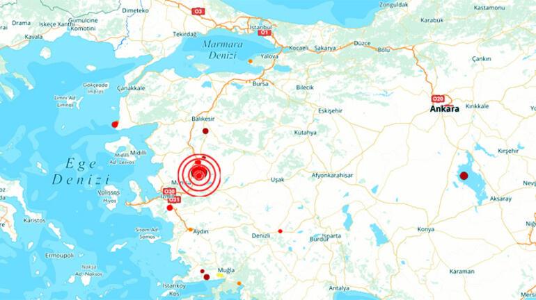 Ege sallandı… Manisa'da korkutan deprem