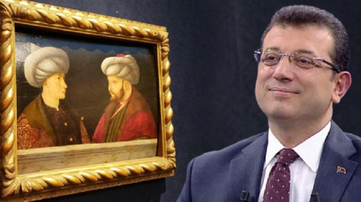 Fatih Sultan Mehmet tablosunun nasıl alındığını anlatan İBB Başkanı İmamoğlu: İstanbul halkına ait bir eser artık