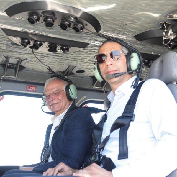AB yetkilisi ile Rum bakan, Akdeniz'de Yavuz'a baktı