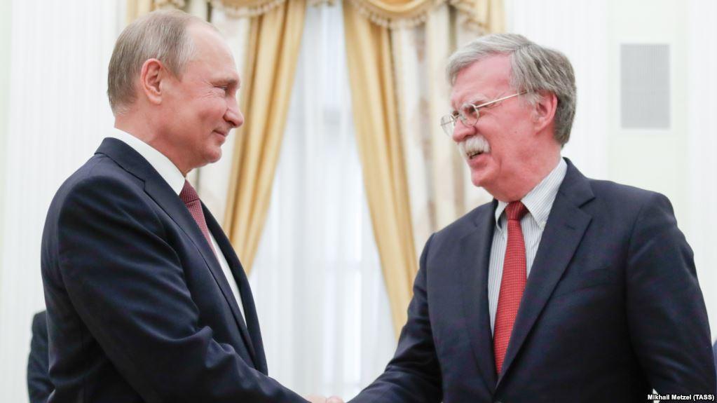 Bolton,Yarın Putin'le de Görüşecek