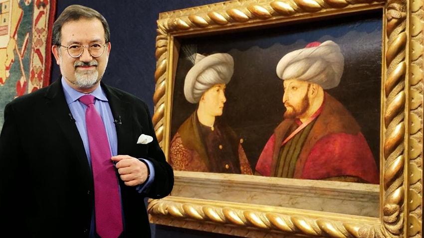 Bardakçı: İBB'nin satın aldığı tabloda Fatih'in karşısındaki genç, Cem Sultan değil