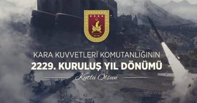 Türk Kara Kuvvetleri Komutanlığı 2229 yaşında