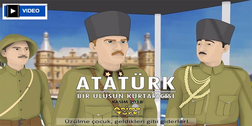 Atatürk'ü anlatan ilk çizgi filmi 10 Kasım'da yayınlanacak
