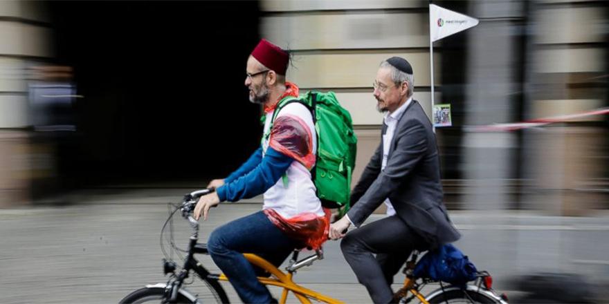 Berlin'de Yahudi ve Müslümanlardan ortak eylem