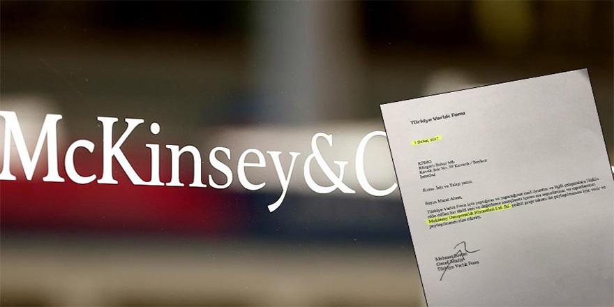 McKinsey ile anlaşma 1,5 yıl önce yapılmış