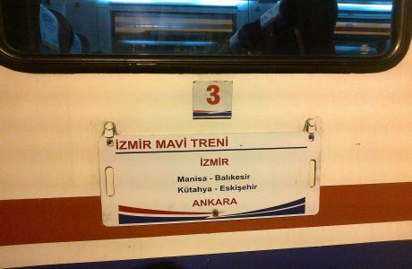 İzmir Mavi Treni Yeniden Ankara'ya Geliyor