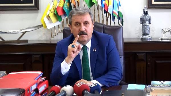 """Destici: """"Yazıcıoğlu Mahkemesinde Yumruk Yemedim"""""""