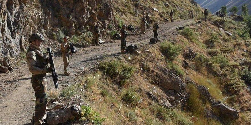 """PKK'ya karşı """"Yıldırım-2 Cilo"""" operasyonu başlatıldı"""
