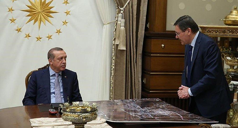 Erdoğan: ''Melih Gökçek Benim Dava Arkadaşım,Beraber Yürüyeceğiz'
