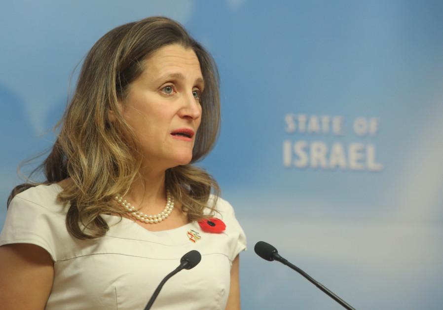 Kanada : 'BM'deki Koltuğum İsrail'indir'