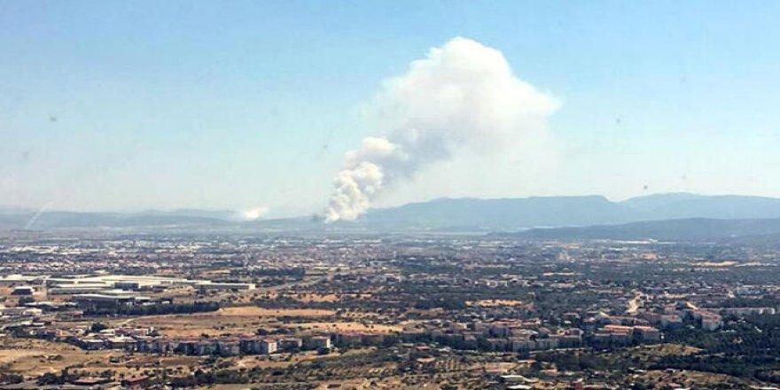 İzmir'de aynı günde 3 yangın