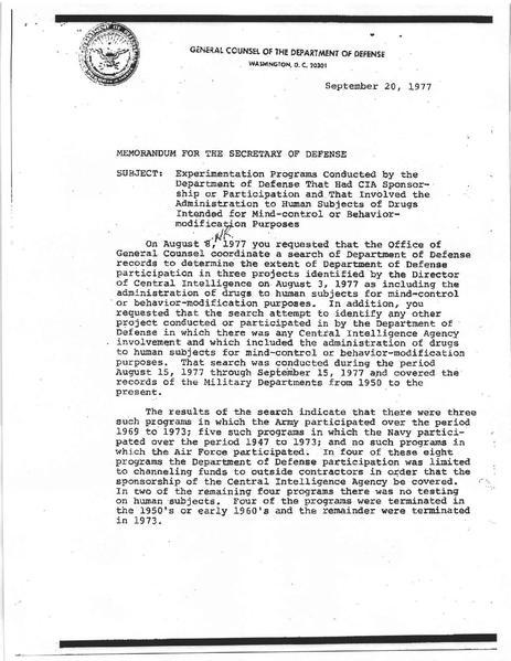N GAZETE DOSYA HABER: CIA BELGELERİNDE ZİHİN KONTROLÜ