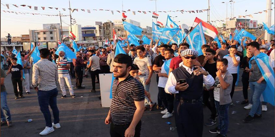 Kerkük Türkmenleri direniş başlattı