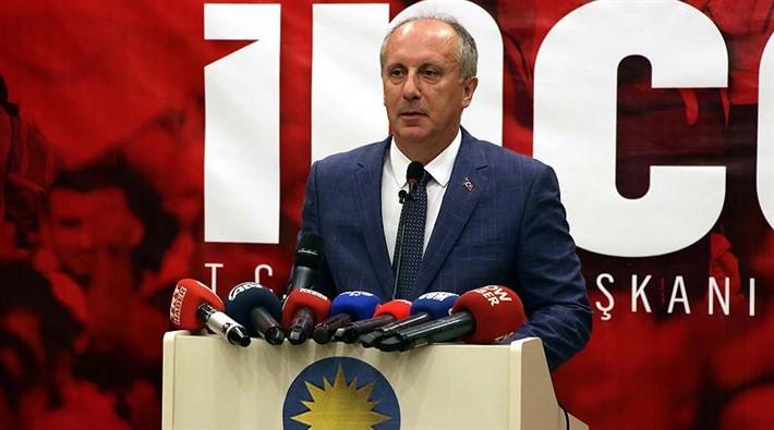 """İNCE'DEN ERDOĞAN'A """"KAYMAK"""" ÇIKIŞI"""