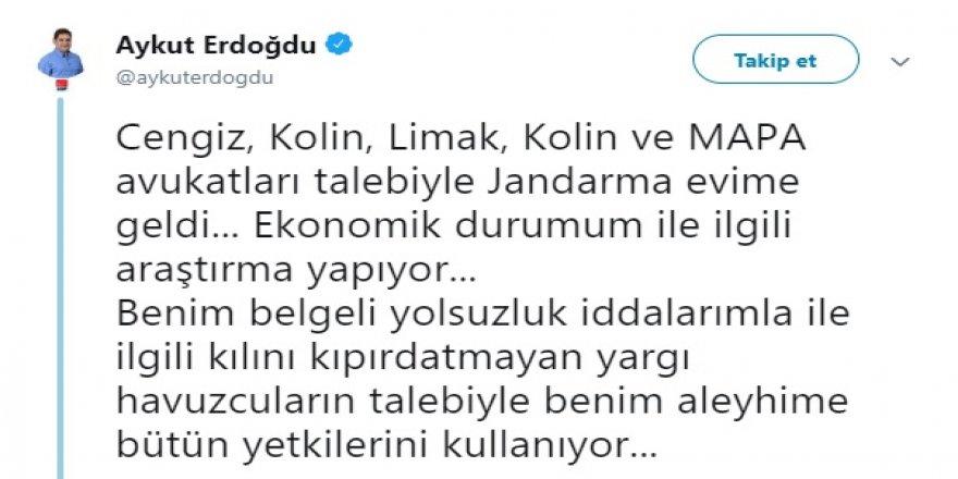 CHP'Lİ VEKİLİN KAPISINA JANDARMA DAYANDI