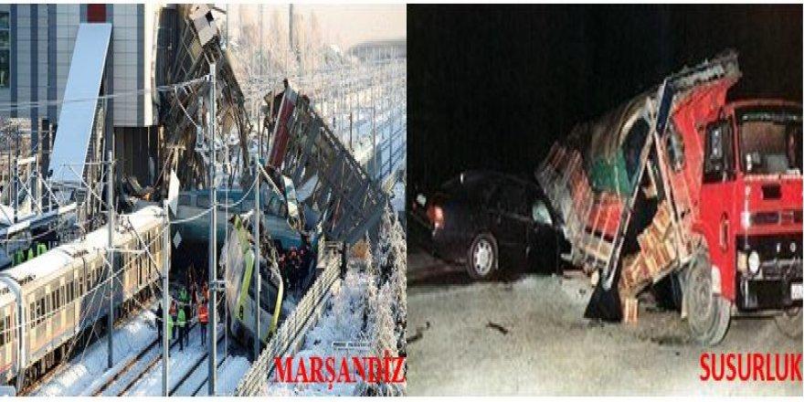 NURAY BAŞARAN YAZDI: TREN KAZASI+MARŞANDİZ  SUSURLUK!