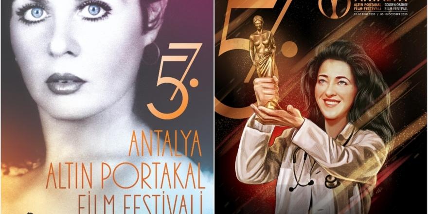 Altın Portakal Film Festivali Afişlerinde Fatma Girik Ve Sağlık Çalışanları Olacak