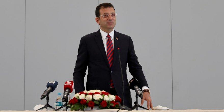 """İmamoğlu: """"Belediyeleri siyasi ayırıma tabi tutmuyoruz"""""""