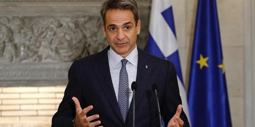 Yunanistan Başbakanı Miçotakis'ten Türkiye İle Diyalog Mesajı