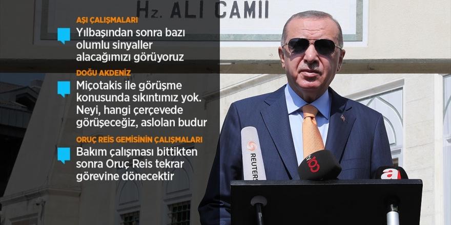Cumhurbaşkanı Erdoğan: Koronavirüs Önlemlerinde Mecburen İşi Tekrar Sıkmak Durumundayız