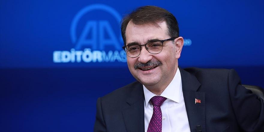 Enerji Ve Tabii Kaynaklar Bakanı Dönmez AAEditör Masası'na Konuk Olacak