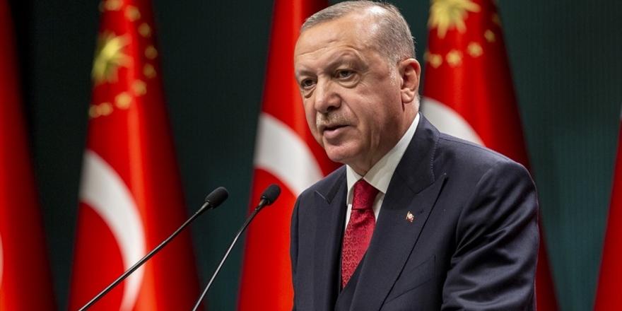 Erdoğan: Gördüğümüz manzara Türkiye'nin aydınlık yarınlara olan inancımızı bir kez daha pekiştirdi