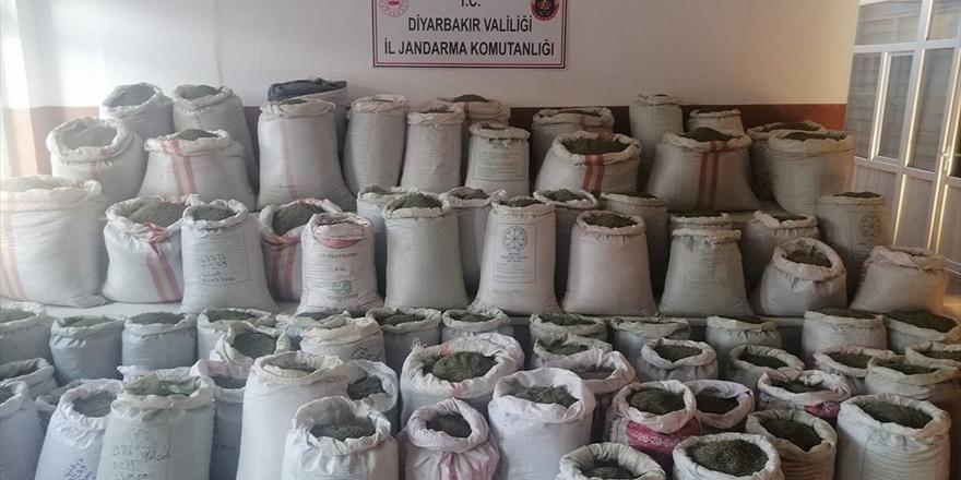 Diyarbakır'da 1 Ton 207 Kilogram Esrar Ele Geçirildi
