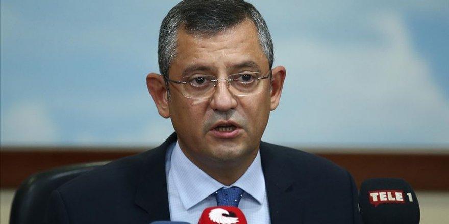 CHP'li Özel: Türkiye ABD'de Şamar Oğlanına Dönmüştür