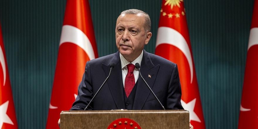 Cumhurbaşkanı Erdoğan: Türk Milleti Tüm İmkanlarıyla Azerbaycanlı Kardeşlerinin Yanındadır