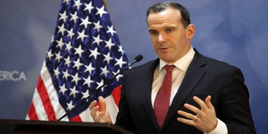ABD'nin Koalisyon Özel Temsilcisi Brett McGurk istifa etti.