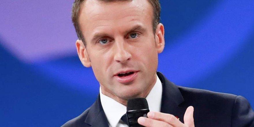 Macron: Trump'ın Suriye'den çekilme kararından derin üzüntü duyuyorum, bir müttefik güvenilir olmalı