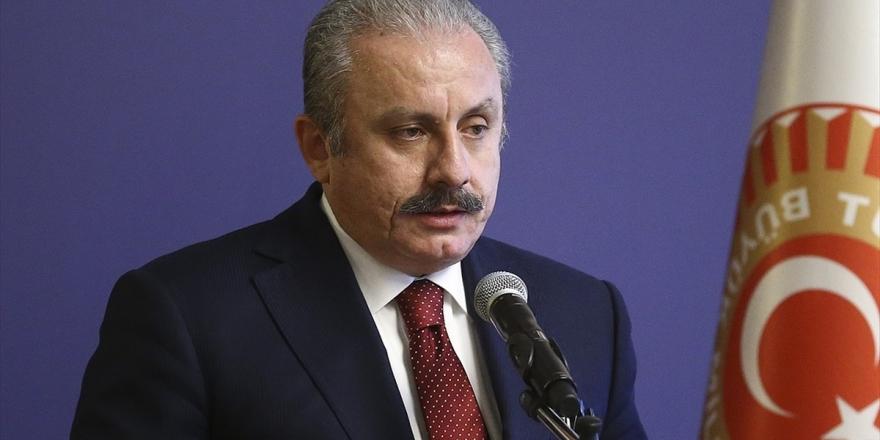 Tbmm Başkanı Şentop: Hala Bu Savaş Suçlarına Göz Yumanlar Suç Ortağı Olarak İtham Olunacaklarını Bilmelidir