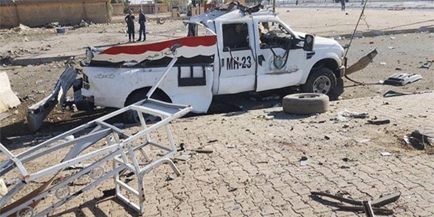 Kerkük'te seçim sandıklarının olduğu depoya bombalı saldırı