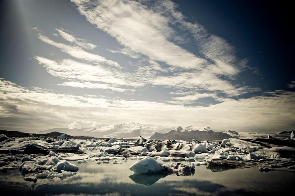 Buzulları eridi. 9 bin 500 yıllık tarihi eserler ortaya çıktı