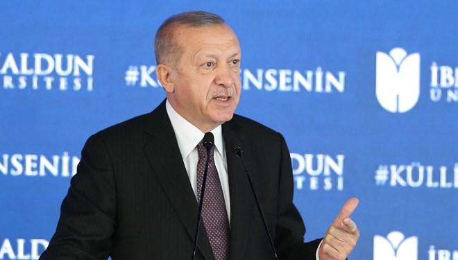 Erdoğan: Topyekün bir eğitim öğretim reformu yapmamız gerekiyor