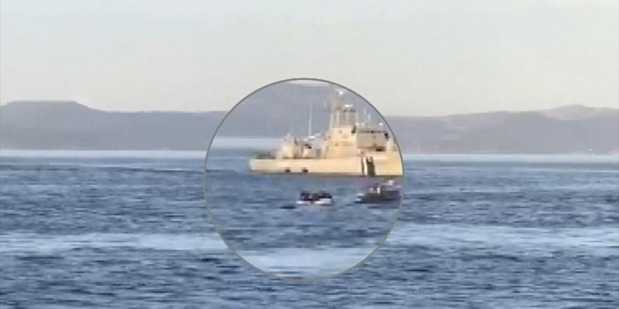 Alman Spiegel Dergisi: Frontex Yunanistan'ın Mültecileri Açık Denize Geri İtmesine Destek Verdi