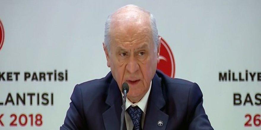 Devlet Bahçeli: Esad rejimi ile Türkiye'nin diyalog kurmasından yana değilim