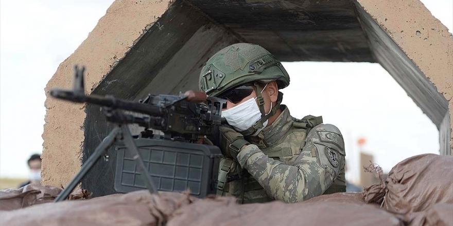 MSB: Barış Pınarı Bölgesine Taciz Ateşi Açan 3 Pkk/ypg'li Terörist Etkisiz Hale Getirildi