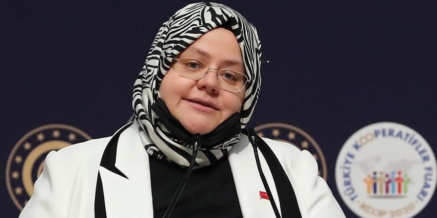 Aile, Çalışma Ve Sosyal Hizmetler Bakanı Selçuk: 'Korumalı İş Yerleri'ne Geçen Yıl 577 Bin Lira Ödenek Aktarıldı