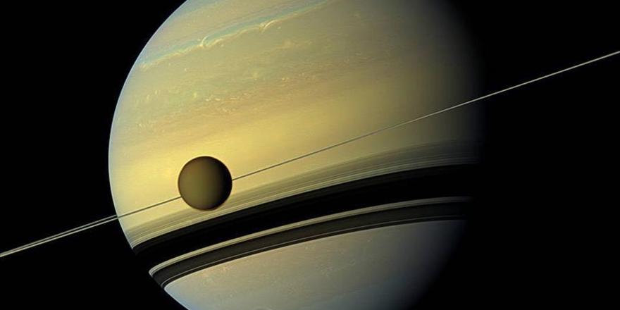 Satürn'ün Uydusu Titan'da Yeni Bir Molekül Bulundu