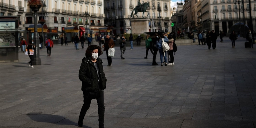 İspanya'da Kovid-19 Nedeniyle İlan Edilen OHAL 9 Mayıs'a Kadar Uzatıldı