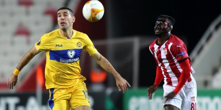 Demir Grup Sivasspor, UEFA Avrupa Ligi I Grubu İkinci Maçında Yenildi