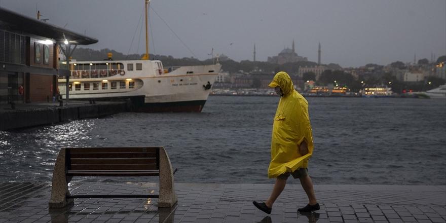 Marmara'nın Doğusu Ve İstanbul'da Kuvvetli Yağış Bekleniyor