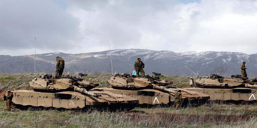 Savaş rüzgarları: İsrail zırhlı birliklerini Suriye sınırına konuşlandırıyor