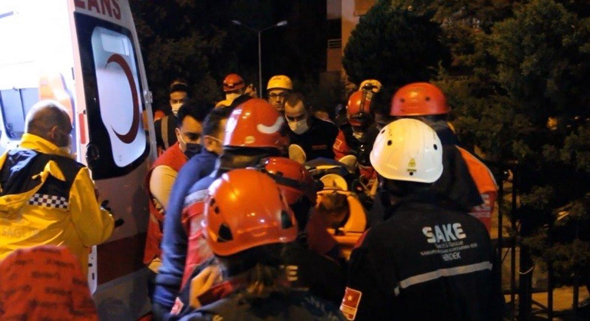 İzmir'de Fadime Tolu, 15 saat sonra kurtarıldı