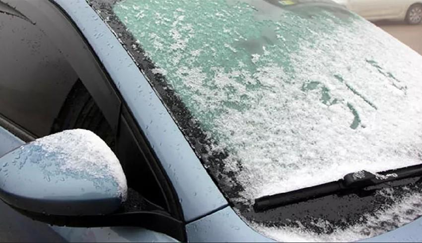 Bolu'ya mevsimin ilk karı düştü
