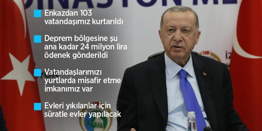 Cumhurbaşkanı Erdoğan: Şu An İtibarıyla 37 Vefatımız, 885 Yaralımız Var
