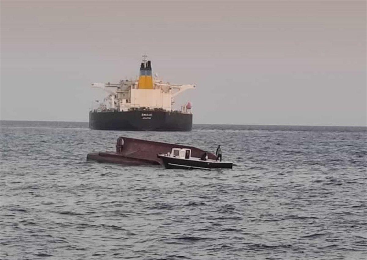 Adana'da Yunan tankeriyle, Türk balıkçı teknesi çarpıştı
